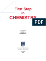 A First Step in CHEMISTRY