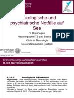 Neurol Notfälle Auf See 2014