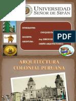 Arquitectura Colonial Peruana
