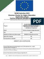 Final Carta Erasmus