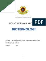 Folio Kerjaya