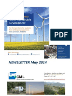 News Letter May 2014 Minor Sustainable Development - Institute of Environmental Sciences
