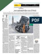 Los Primeros Automóviles en El Perú