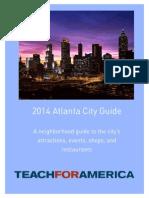 2014 Atlanta City Guide