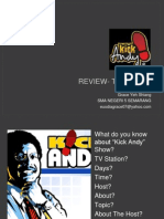 Review- Text Type (Kick Andy)