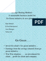 Go Green.. a Viable Business Model