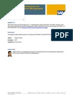 Data Loading Mechanisms for Spend Performance Management (SPM)