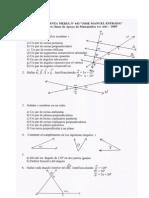 Guía Nº 3 Matemática 1º Año-2009