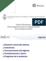 Presentacion Camara de Comercio Ing. Laffitte DGI