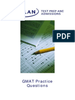 FREE GMAT Practice Questions All