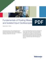 Isolated Input Oscilloscopes