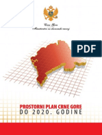 Prostorni Plan CG Do 2020