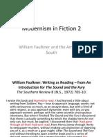 2 Modernism in Fiction_Faulkner