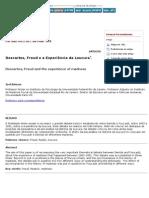 BIRMAN, J. . Descartes, Freud e a Experiência Da Loucura.