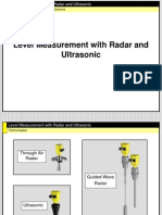 Radar and Ultrasonic Level Measurement