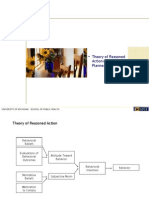 HBHE600_2008_03_Theory of Reasoned Action | Theory of Planned Behavior