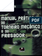 Manual Pratico Do Torneiro Mecanico e Do Fresador