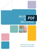 belongingbeing becoming-the early years learning framework for australia