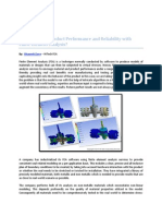 How to Ensure Product Performance and Reliability With Finite Element Analysis