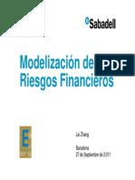 Modelización de Riegos Financieros