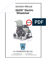 design and fabrication of electronoc wheel chair