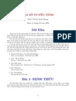 Dai So Tuyen Tinh