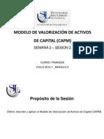 Semana 2 Sesion 2 -Modelo de Valorizacion de Activos de Capital