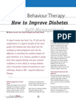 How to improve diabetes