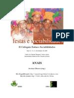 Colóquio Festas e Sociabilidades Anais Completo Lt