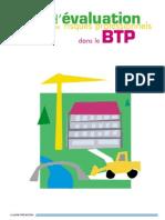 Évaluation Des Risques Profissionels Btp