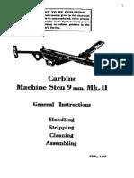 Sten Mk i i Submachine Gun