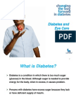 Diabetes & Eyecare