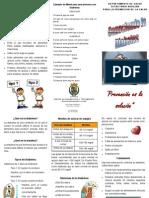 Brochure Clinica Diabetes