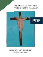 Badiny Jós Ferenc - a Kald-partus Hagyomány
