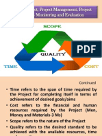Presentation Project Management Etc. LUAWMS May 21,11