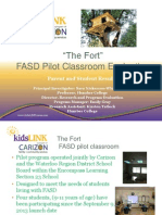fasd pilot classroom evaluation- march 2014