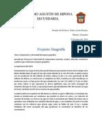 Proyecto Geografía