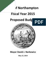 Northampton, MA FY2015 Budget