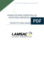 Primer Informe Trimestral Del Monitoreo Socio Ambiental