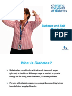 Diabetes & Self Monitoring