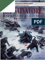 R.a. Salvatore - Kharón Karma