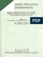 Cserép József - A Magyarok Őshazája És Őstörténete