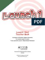 Launch 1 Read Teacher Book