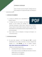 Regulamento Certificação Interna Março 2009