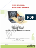 RETAIL MGMT - OnLine Retailing - Mr. Deepak Nirmal-JL060180