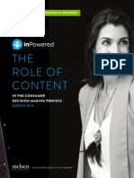 The Role of Content in Purchase - Nielsen - March 2014