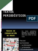 Los Textos Periodisticos