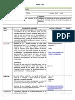 PLAN de CLASE Texto Informativo
