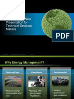 Cisco EnergyWise Presentation for Technical Decision Makers