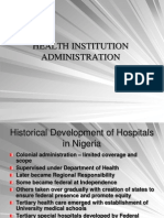 Hospital Administration in Perspective